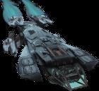 Cutter Class space ship